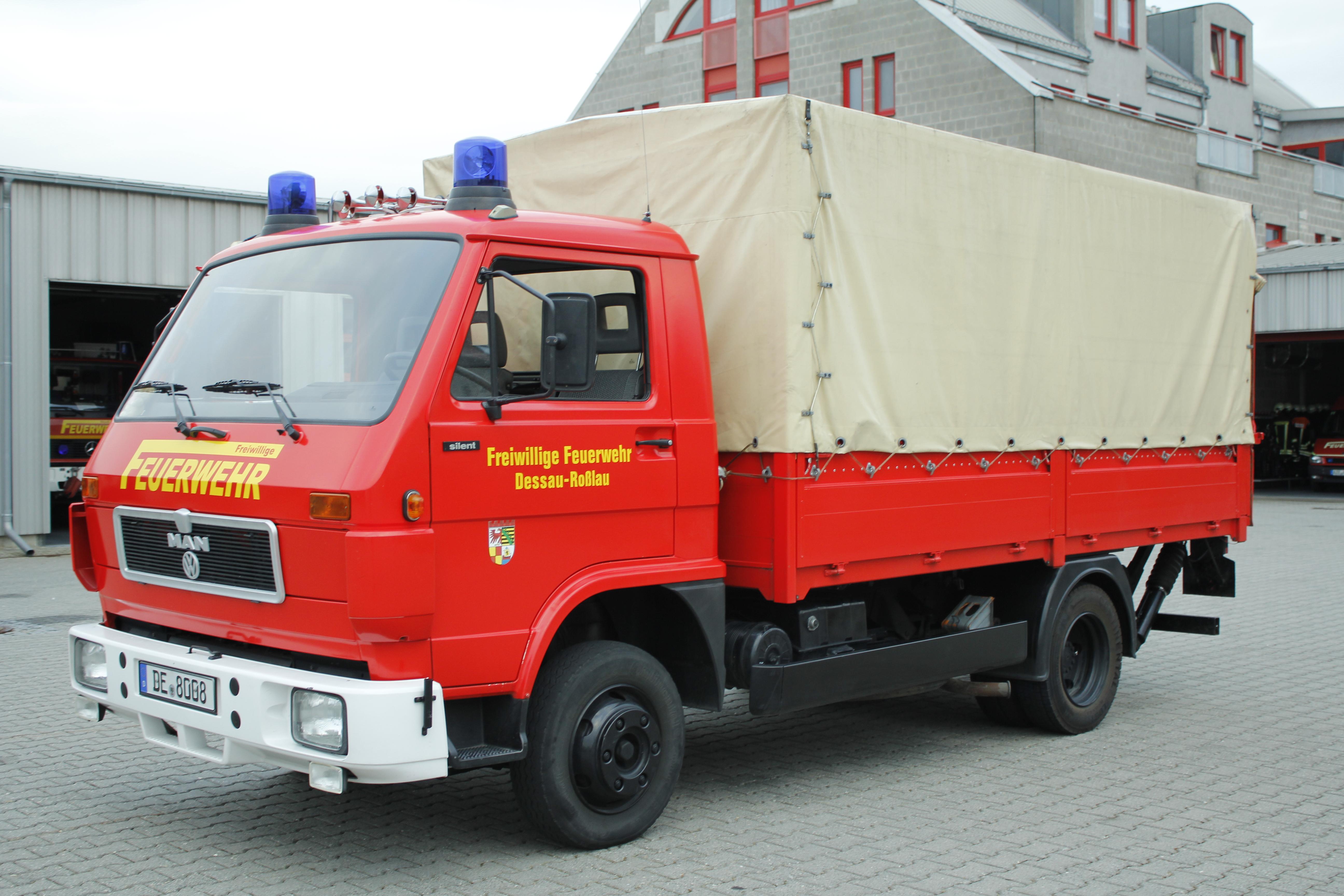 Gerätewagen Logistik 1 | Freiwillige Feuerwehr – Rosslau